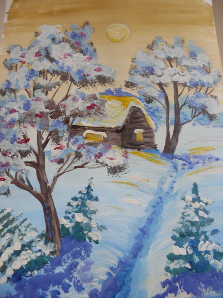 рисунок зимушка зима фото необычного