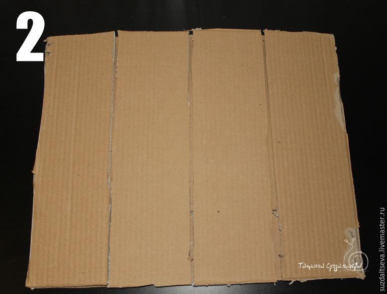 Фотофон из картона