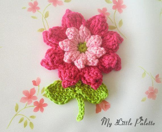 схема, цветок, цветочек, крючок, вязание крючком, цветок крючком, схема цветка