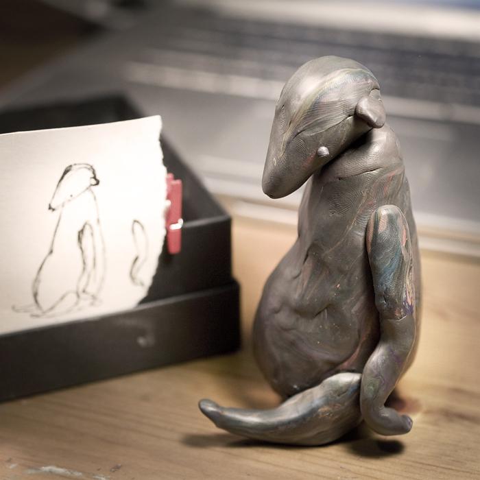 тедди, мишки тедди, пластилиновый макет, процесс создания тедди, мишка