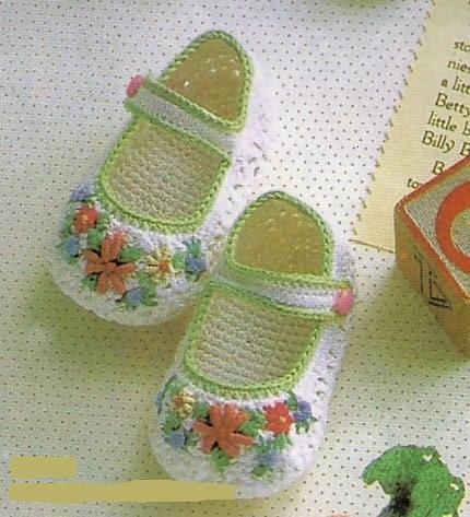 Детская обувь крючком своими руками