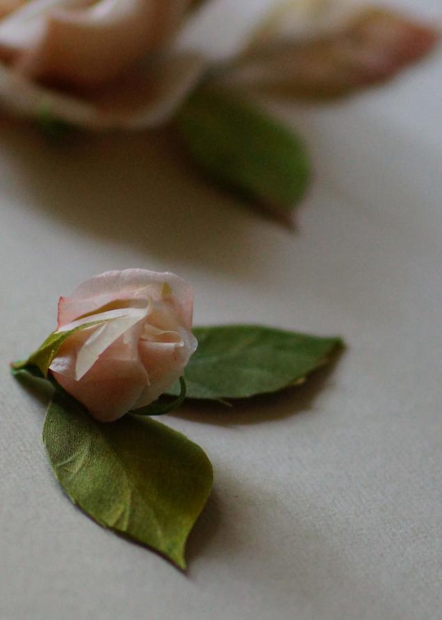 розы в косы