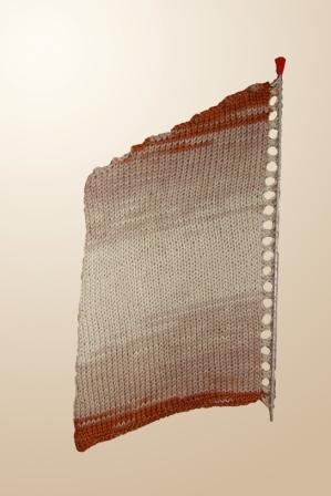 Вяжем свитер «летучая мышь» из меланжевой пряжи, фото № 1