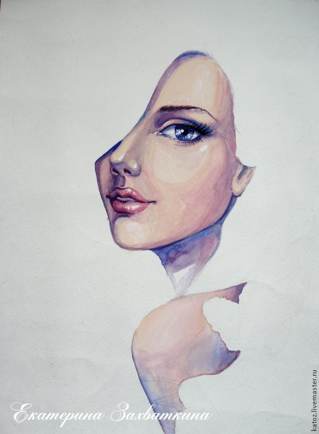 Девушки лицо осень 4
