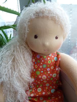 вальдорфская кукла, подарок девочке, кукла в подарок
