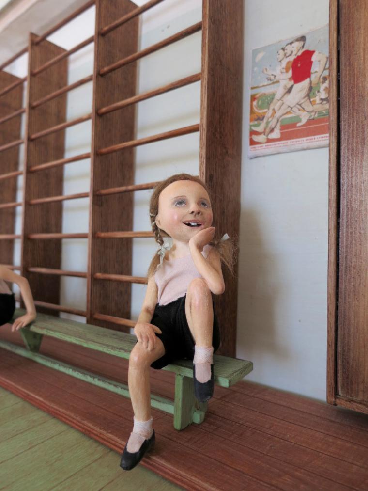 куклы из паперклея