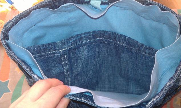 68e1f32fd457 Модная сумка из старых джинсов – мастер-класс для начинающих и  профессионалов