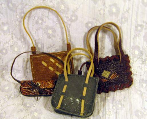 Кожаные мелочи  для кукол, фото № 2