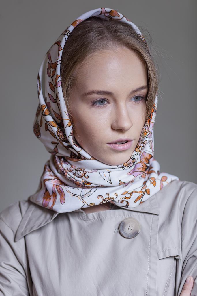 шаль, весенняя мода 2015