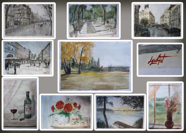 акварель, живопись, картины, распродажа, акварельные картины, акварельная живопись, выставка, виртуальная выставка