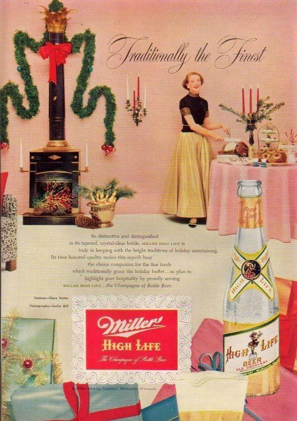 Новогодняя реклама Vintage/1951 -1956 включительно, фото № 32