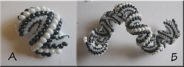 Браслет из бисера Зиг-Заг - Ярмарка Мастеров - ручная работа, handmade