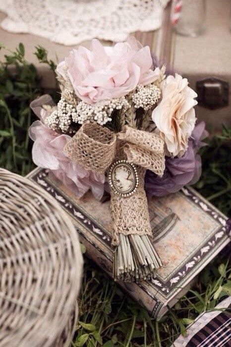 Льняная свадьба. Идеи для вдохновения, фото № 69
