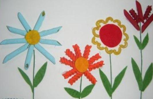 Детские поделки из макарон своими руками фото