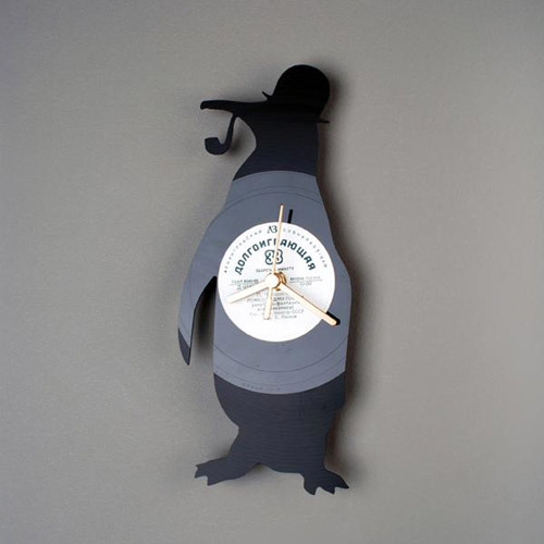 Re_Vinyl - серия дизайнерских часов из виниловых пластинок