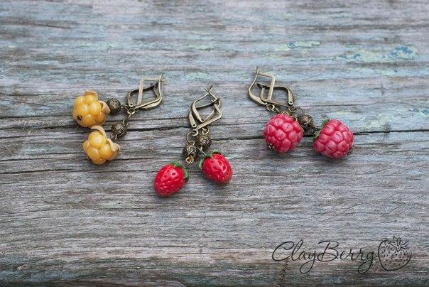 ягодные украшения