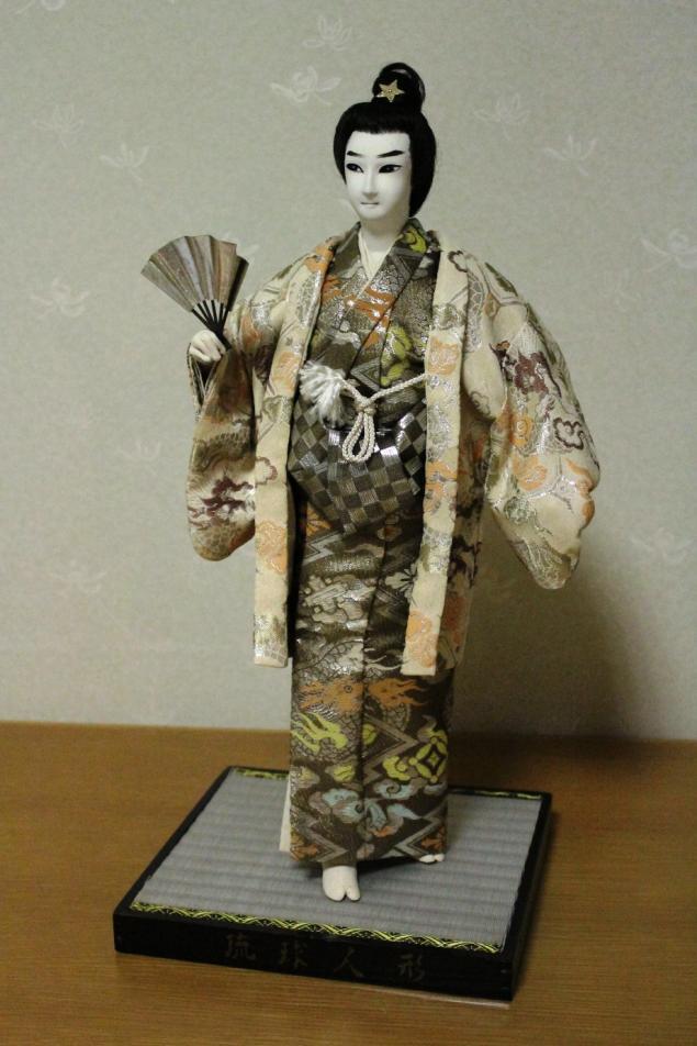 аукцион с нуля, настоящая японская кукла, украшение интерьера