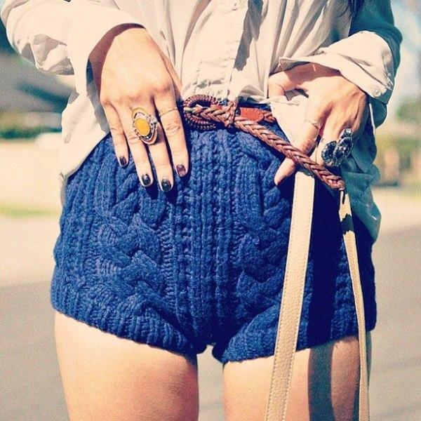穿短裤的同时、冷吗? - maomao - 我随心动