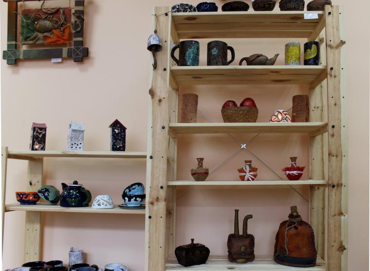выставка керамики, юлия мацигор