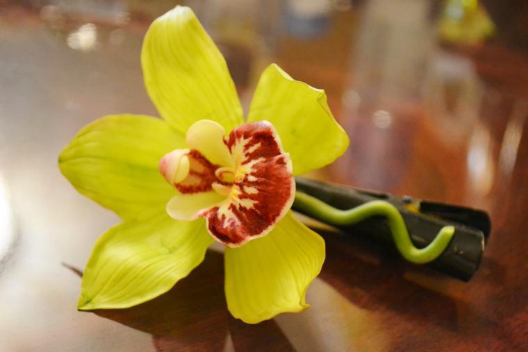 конкурс коллекций, призы, орхидея, интерьерная композиция