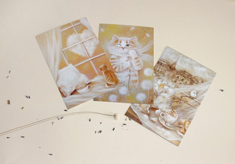 открытки авторские