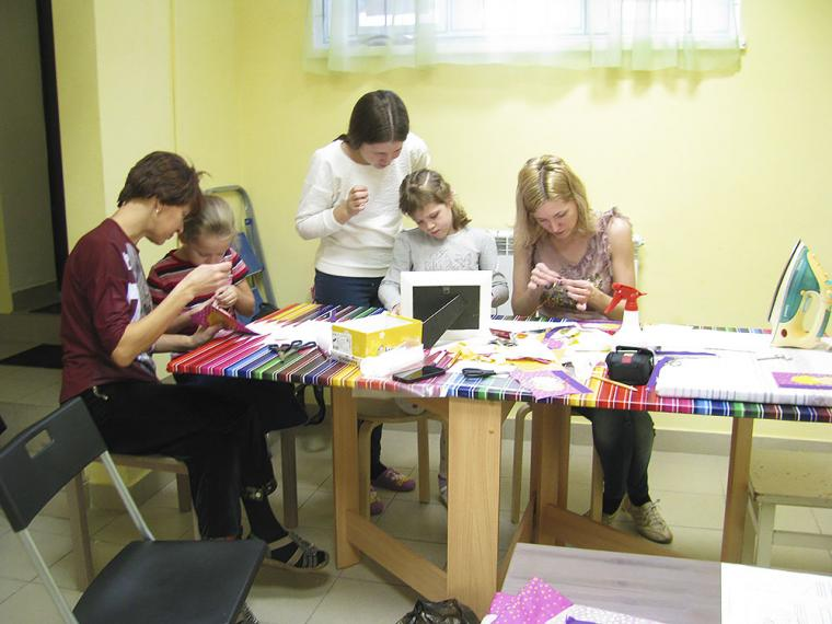 мастер-класс шитье