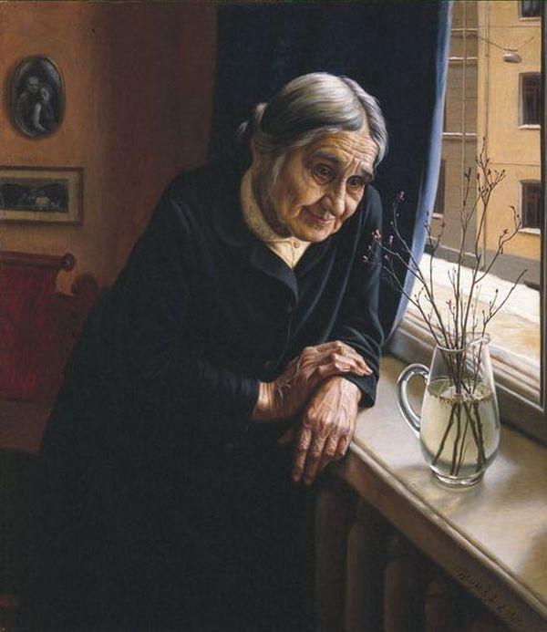 бабушки в живописи