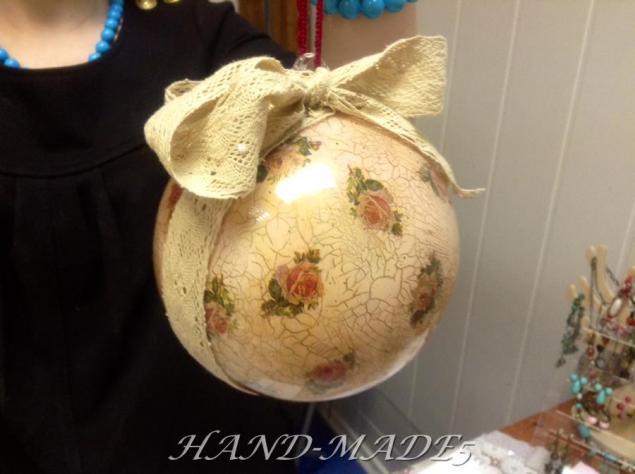 hand-made5, елочные украшения