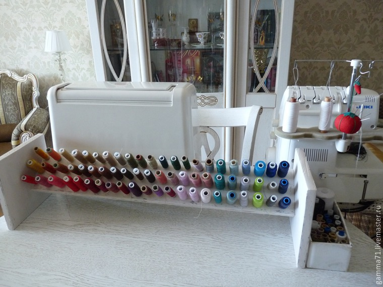 How to Make a Shelf for Spools of Thread, фото № 22