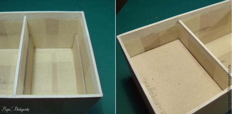 Мы закончили картонную основу