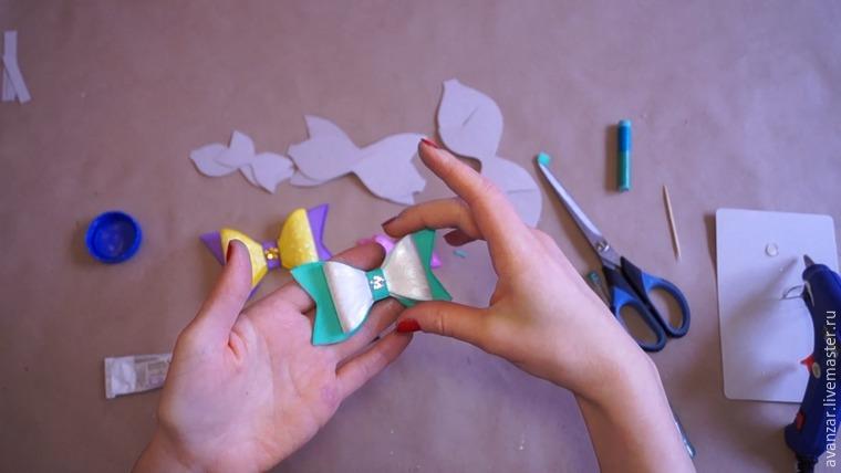 Как сделать бабочку из клея