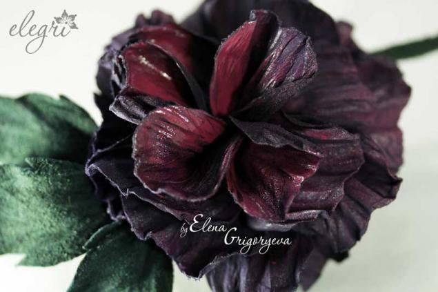 обучение цветоделию, мастер-класс роза, цветы из кожи, авторские розы, технология от elegri, обучение цветам, обучение роза, мастер-класс брошь, брошь-роза