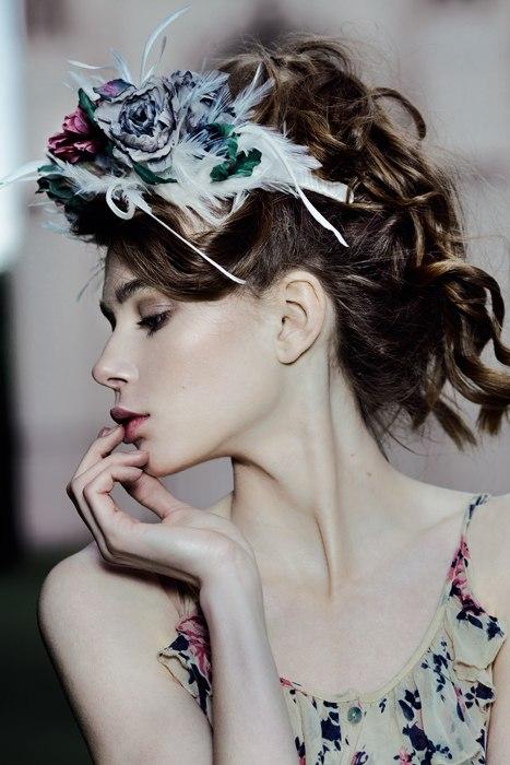 цветы ручной работы, розы из шелка