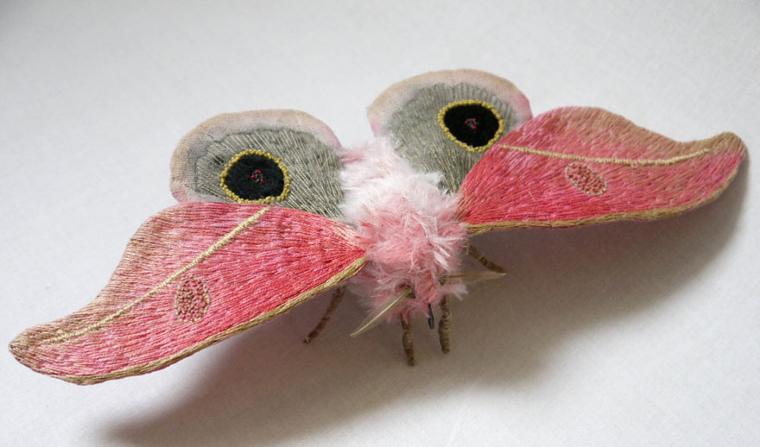 Текстильные шедевры, или Бабочки как источник вдохновения, фото № 18