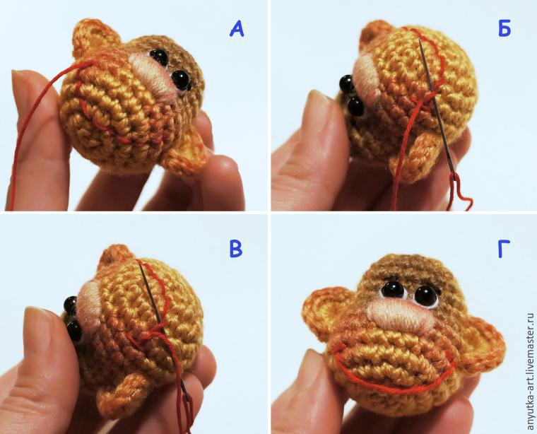 обезьянка своими руками