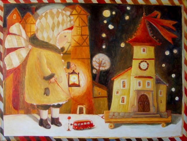 Путешествие в детство с белорусской художницей Анной Королёвой, фото № 11