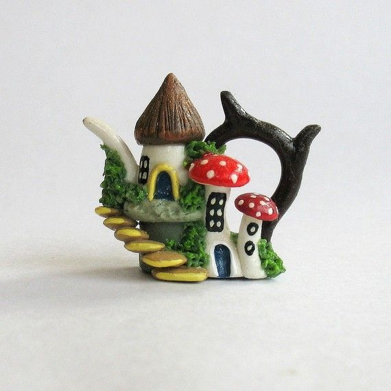 fairy house- ArtisticSpirit on Etsy