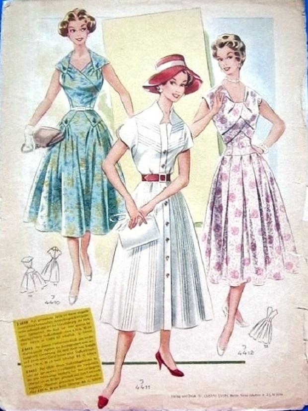 Журнал мод 50 60-х годов