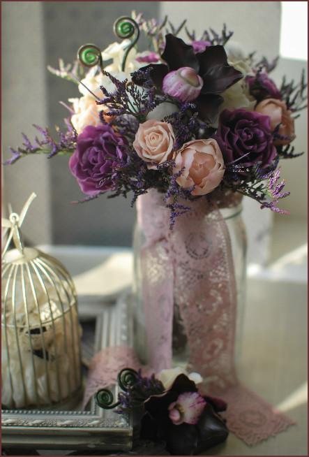 букет невесты, розы