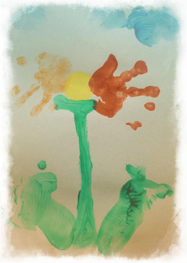 Каляки-маляки или Как мы рисуем пальчиками, ладошками и ножками, фото № 6