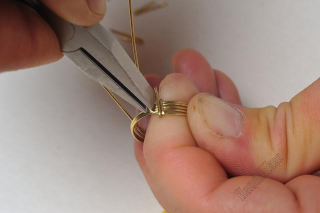 Властелин колец, или Как создать перстень из одного цельного куска проволоки, фото № 10