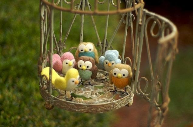 Живые игрушки, птички, фото № 6