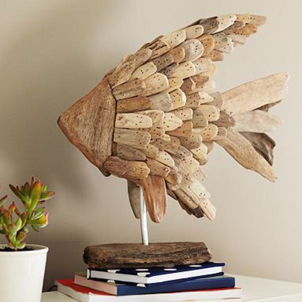Декор из природного материала