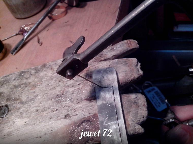 Делаем стильное кольцо из серебра, фото № 7