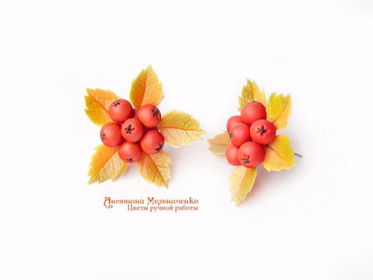 лепка, лепка цветов, лепка из полимерной глины, керамическая флористика, полимерная флористика, украшения с цветами, ягоды из пластики мк