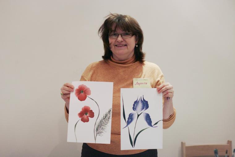 мастер - класс по росписи, обучение живописи