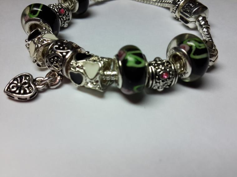 аукцион сегодня, браслет пандора, пандора стиль, серебряный браслет