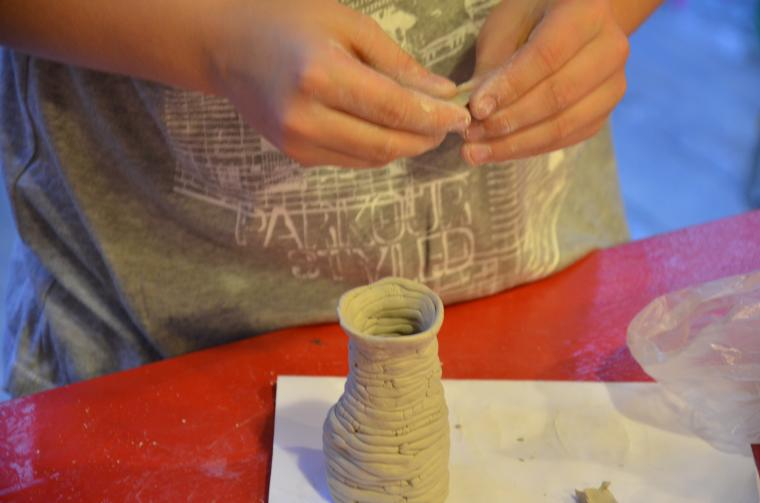 мастер-класс, ажурная керамика, гончарное дело