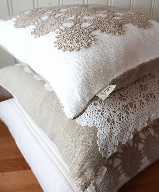 doily pillows