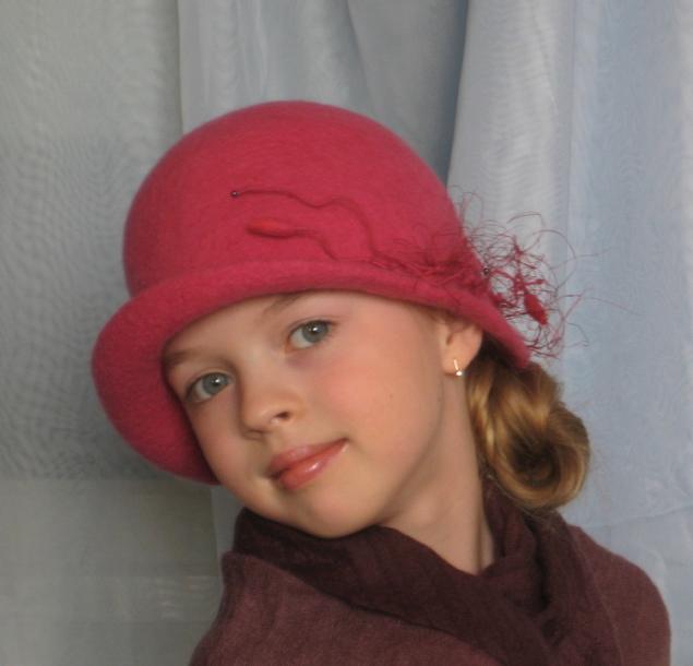 Шляпка детская мастер класс